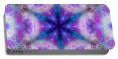Portable Battery Charger featuring the digital art Mystic Universe 5 Kk2 by Derek Gedney