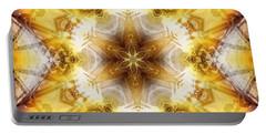 Portable Battery Charger featuring the digital art Mystic Universe 7 Kk2 by Derek Gedney