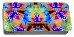 Portable Battery Charger featuring the digital art Mystic Universe Kk 13 by Derek Gedney