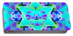 Portable Battery Charger featuring the digital art Mystic Universe Kk 8 by Derek Gedney