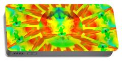 Portable Battery Charger featuring the digital art Mystic Universe Kk 9 by Derek Gedney