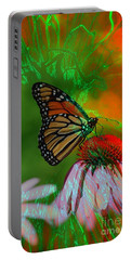Mystical Monarch Portable Battery Charger