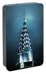Mystical Spires Portable Battery Charger by Az Jackson