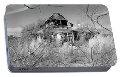 Portable Battery Charger featuring the photograph N C Ruins 2 by Mike McGlothlen