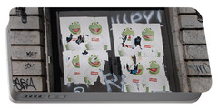 N Y C Kermit Portable Battery Charger by Rob Hans