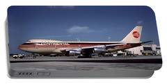 N17011, Continental Airlines, Boeing 747-143 Portable Battery Charger
