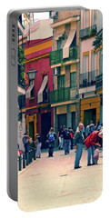 Portable Battery Charger featuring the photograph Triana On A Sunday Afternoon 1 by Mary Machare