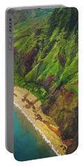 Na Pali Coast Aerial Portable Battery Charger