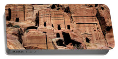 Portable Battery Charger featuring the photograph Nabataeans' City by Mae Wertz