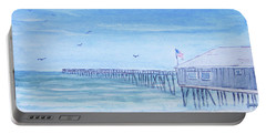 Nags Head Pier Portable Battery Charger