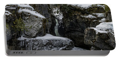 Nairn Falls, Winter Portable Battery Charger