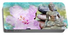 Namaste Buddha Portable Battery Charger