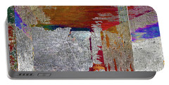 Portable Battery Charger featuring the mixed media Name This Piece by Tony Rubino