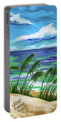 Namesinthesand-ynh Portable Battery Charger by Tim GillilandNamesInTheSand
