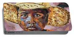 Madagascar Farm Girl Portable Battery Charger