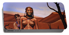 Himba Girls Of Namibia Portable Battery Charger