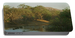 Namibian Waterway Portable Battery Charger by Ernie Echols