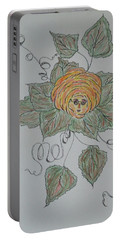 Nana Rose Is Here Portable Battery Charger by Sharyn Winters