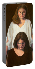 Nancy And Abby Portable Battery Charger