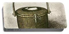 Nantucket Basket Portable Battery Charger