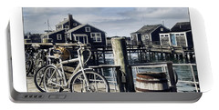 Nantucket Bikes 1 Portable Battery Charger by Tammy Wetzel
