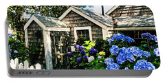 Nantucket Cottage No.1 Portable Battery Charger by Tammy Wetzel