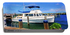 Nantucket Harbor Safe Harnor Series 52 Painted Portable Battery Charger