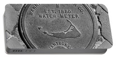 Nantucket Water Meter Cover Portable Battery Charger