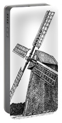 Nantucket Windmill Number One Portable Battery Charger