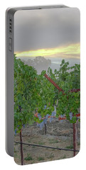 Napa Valley At Dawn Portable Battery Charger