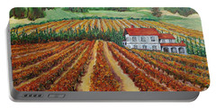 Napa Valley Autumn Portable Battery Charger