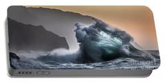 Napali Coast Hawaii Wave Explosion IIi Portable Battery Charger