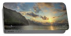 Napali Coast Sunset Kauai Portable Battery Charger
