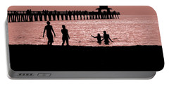 Naples Florida Sunset Portable Battery Charger