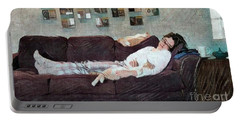 Naptime With The Boys Portable Battery Charger