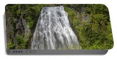 Narada Falls In Mount Rainier National Park Portable Battery Charger