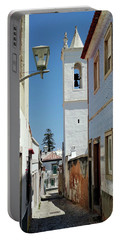 Portable Battery Charger featuring the photograph Narrow Street In Tavira - Portugal by Barry O Carroll