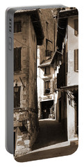 Narrow Streets Of Asolo Portable Battery Charger