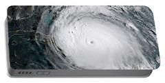 Nasa Hurricane Irma Satellite Image Portable Battery Charger