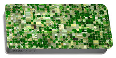 Nasa Image-finney County, Kansas-2 Portable Battery Charger