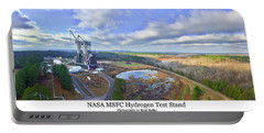Nasa Msfc Hydrogen Test Stand - Original Portable Battery Charger