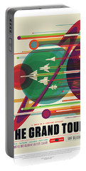 Nasa The Grand Tour Poster Art Visions Of The Future Portable Battery Charger