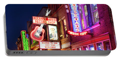 Portable Battery Charger featuring the photograph Nashville Signs by Brian Jannsen