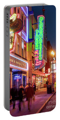 Portable Battery Charger featuring the photograph Nashville Signs II by Brian Jannsen