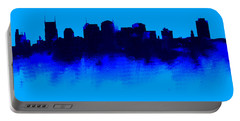 Nashville  Skyline Blue  Portable Battery Charger