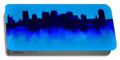 Nashville  Skyline Blue  Portable Battery Charger