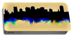 Nashville  Skyline  Portable Battery Charger