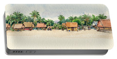 Nassau, Cook Islands, South Pacific Portable Battery Charger
