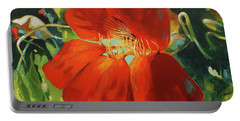 Nasturtium Portable Battery Charger
