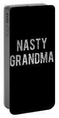 Nasty Grandma Vintage Portable Battery Charger